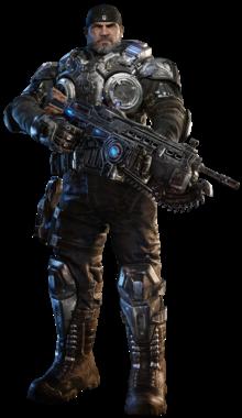 220px-Marcus Fenix (character)