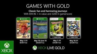 Xbox - May 2019 Games with Gold
