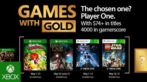 Xbox - May 2017 Games with Gold