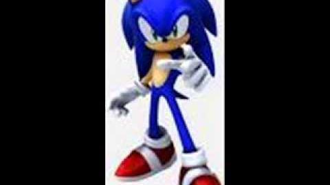 Sonic 2006 Sonic's Unused Free Mode Voices