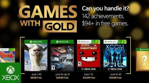 Xbox Live Games With Gold For October 2018