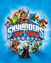 Skylanders Trap Team cover art