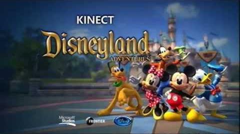 Kinect Disneyland Adventures - Voice Sounds