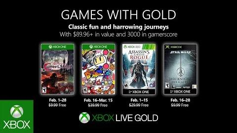Xbox - February 2019 Games with Gold-0