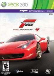 Forza Motorsport 4 cover