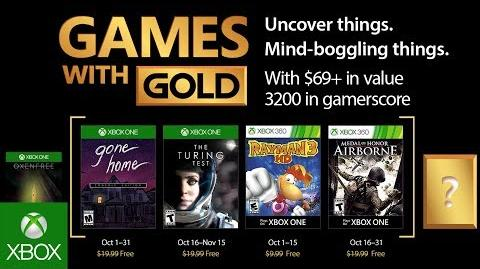 Xbox - October 2017 Games with Gold-0