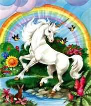 Campin unicorn image