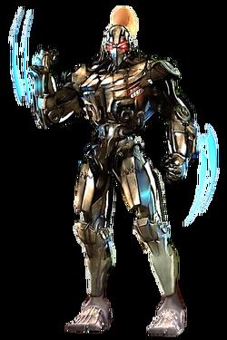 Fulgore full body render by hangman95-d806434