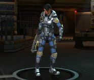 Carapace Armor female pose2