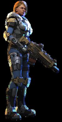 XCOM(EU) Soldier CarapaceArmor