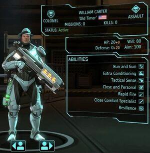XCOM(EU) Hero WilliamCarter