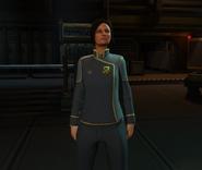 XComEW Annette in dress uniform