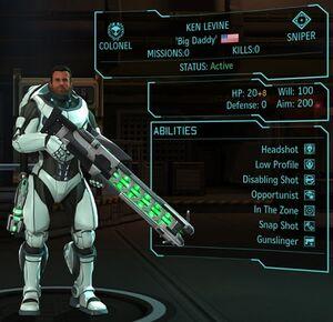 XCOM(EU) Hero KenLevine