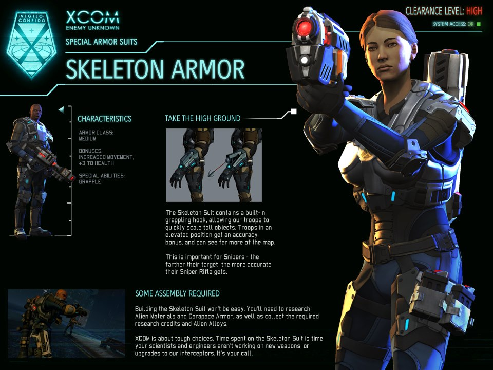 Xcom Enemy Unknown Alien Types Skeleton Suit (...