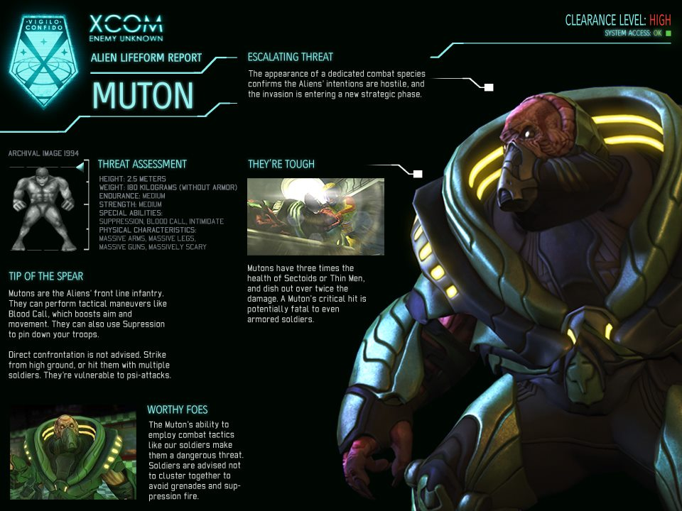 Xcom Enemy Unknown Alien Types Category:Aliens...