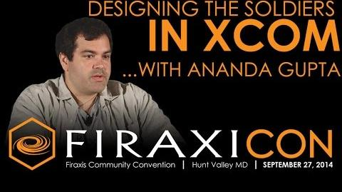 Firaxicon Panel Designing the Soldiers in XCOM