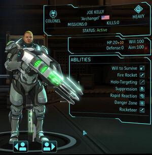 XCOM(EU) Hero JoeKelly