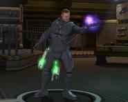 Psi Armor pose at base