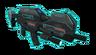 XComEW EXALT Laser Assault Rifle trans