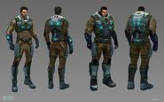 XCOM(EU) ConceptArt Tier2Armor