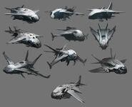 Concept - XCOM Ships