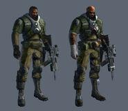 Concept - Soldier male