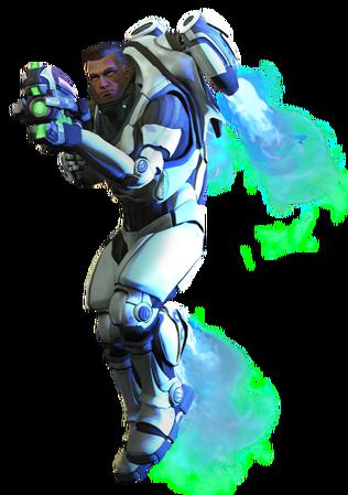 XCOM(EU) Soldier ArchangelArmor