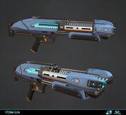 Storm gun