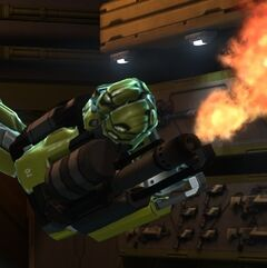 XCOM EW MEC Flamethrower