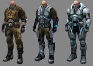 XCOM(EU) ArmorProgression