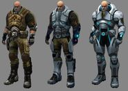 Xcom Enemy Unknown Alien Types Body armors (XC...