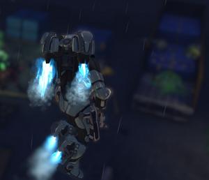 XCOM(EU) ArchangelArmor InFlight