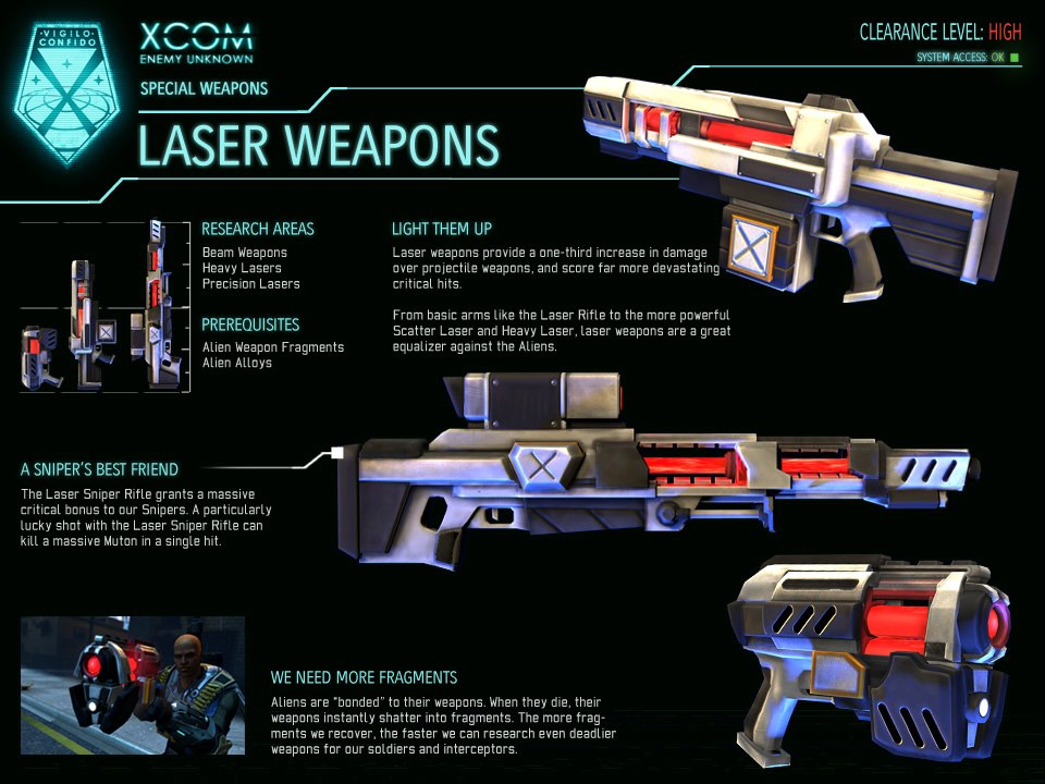 how to create laser weapons