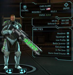 XCOM(EU) Hero ChrisKluwe