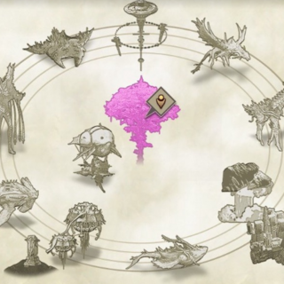The complete in-game map of Alrest