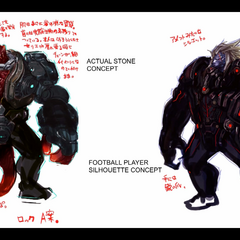 Rock initial concept artwork
