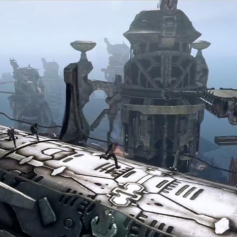 The bridges between the frigates