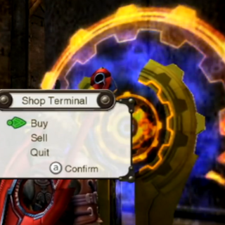 The activated Shop Terminal