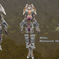 Melia in Retrieved outfit