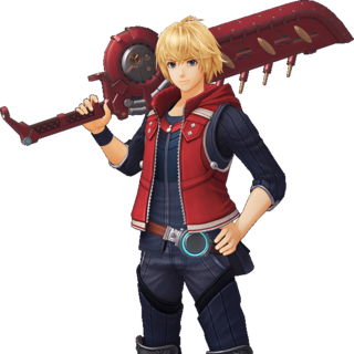 Official art of Shulk in <i>Future Connected</i>