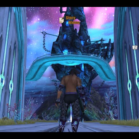 Viewing the floating Prison Island at night