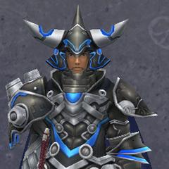 Dunban wearing the Titan Heavy Armor