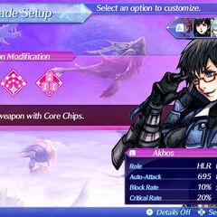 Akhos recruited as a Rare Blade