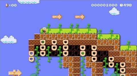 Super Mario Maker たけうちPさんの「ガウル平原~Xenoblade~」