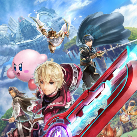Promotional artwork of Shulk's reveal