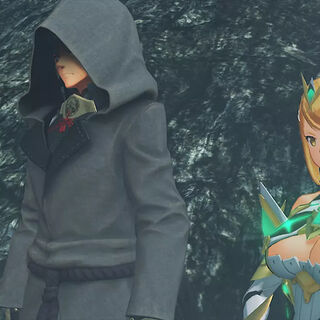 Addam and Mythra in <i>Torna ~ The Golden Country</i>