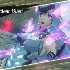KOS-MOS activating her level 3 special