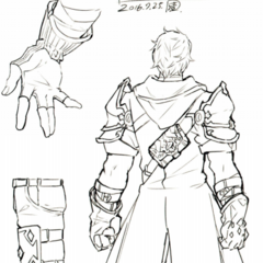 Concept art of Zeke