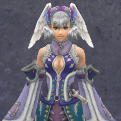 Melia in Medium Glory Armor