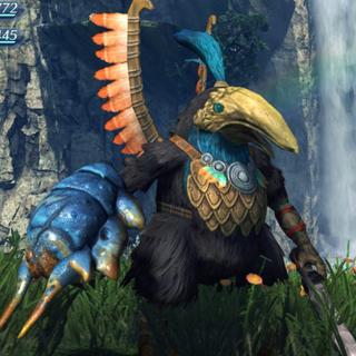 A High Shield Tirkin in <i>Xenoblade Chronicles 2</i>